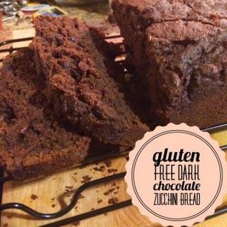 Gluten Free Dark Chocolate Zucchini Bread