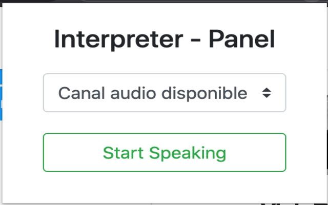 Visio translate interpreters