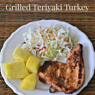 Grilled Teriyaki Turkey.