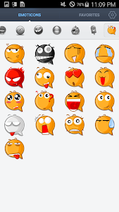 Face Emoticons Stickers screenshot 0