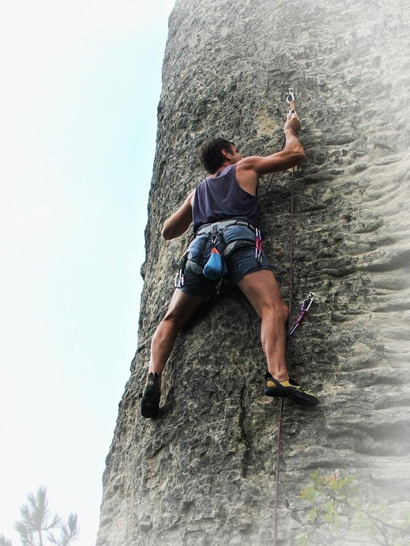 Scuola di roccia di Giò Volpi