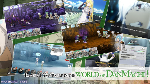 DanMachi - MEMORIA FREESE - screenshot