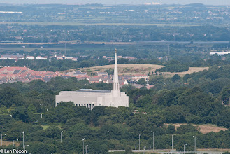 Photo: Mormon Temple from Grey Heights 22.07.12