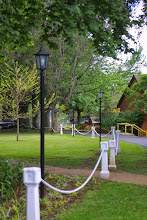 Photo: Path to the Art and Music Block between the Chapel and the classroom block