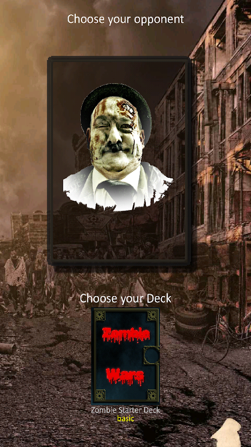 Zombie Wars: Apocalypse CCG- screenshot