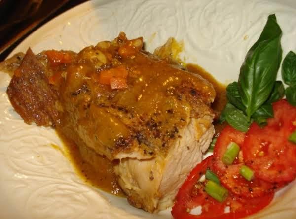 Bunyan's Diabetic Crock Pot Pork Roast Recipe