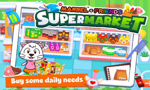 Marbel Supermarket Kids Games apktram screenshots 2