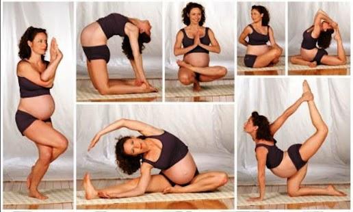 Pohyb gymnastika Těhotenství - náhled