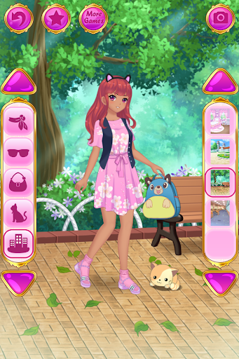 Anime Dress Up - Games For Girls  {cheat|hack|gameplay|apk mod|resources generator} 5