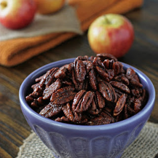 Apple Pie Spiced Pecans