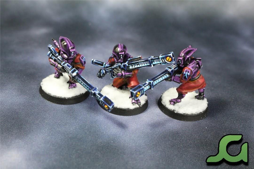 Pathfinders with Rail Rifles