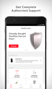 OnePlus Care - by Servify- screenshot thumbnail