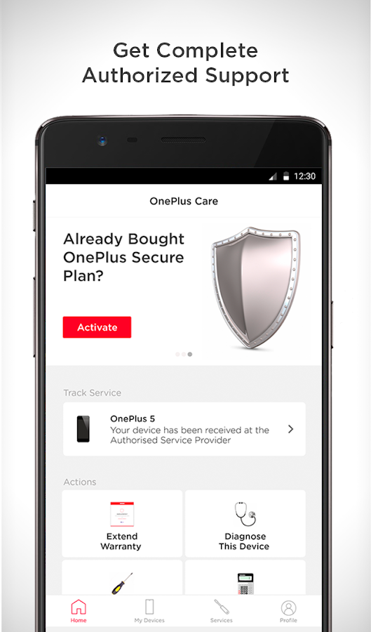 OnePlus Care - by Servify- screenshot