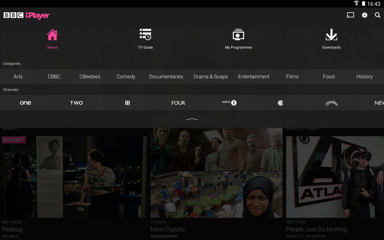 BBC iPlayer screenshot #10