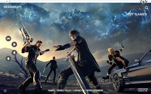 Final Fantasy HD Wallpapers Tab Theme
