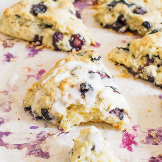 Blueberry and Lemon Scones