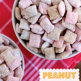 Peanut Butter & Jelly Puppy Chow