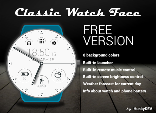 Classic Watch Face ss2