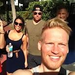 my crew from Toronto in Miami in Miami, Florida, United States