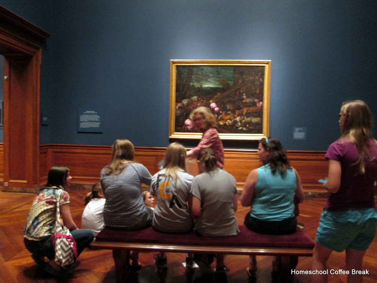 Baltimore Museum of Art Field Trip on Homeschool Coffee Break @ kympossibleblog.blogspot.com