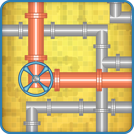 Plumber Pipes Logic Puzzle