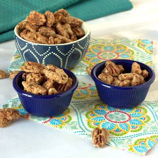 Spiced Pecans.