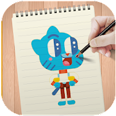 Learn to Draw Gumball