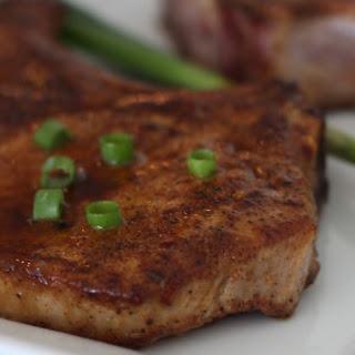 Maple Chili Pork Chops.