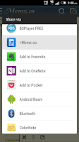 Screenshot of Tree notes, tasks, to-do lists