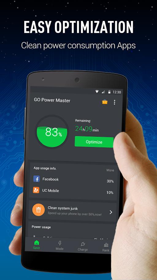 GO Battery Saver&Power Widget APK 5.9.0 screenshots 1