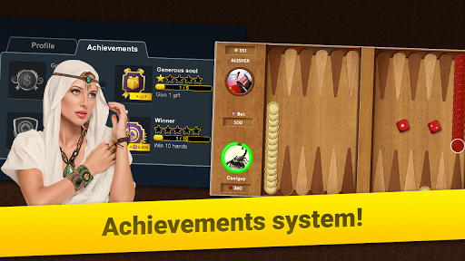 Backgammon Long Arena: Play online backgammon! screenshot 7