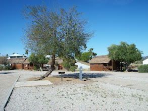 Photo: Cabins in Oasis RV Park