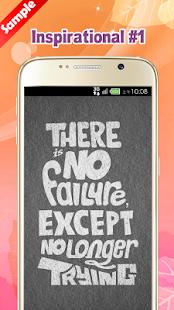 Inspirational Wallpapers screenshot