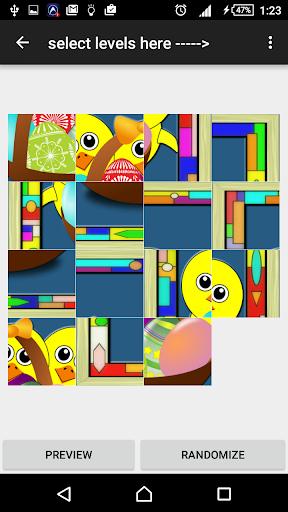Slide puzzle: Chick
