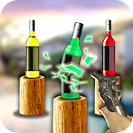 Bottle Shooter: 3D Gun Shooting Trainer Icon