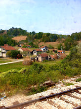 Photo: Train ride from Zagreb, Croatia to Sarajevo.