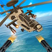 US Army Gunship Battle Strike: Gunner Helicopter