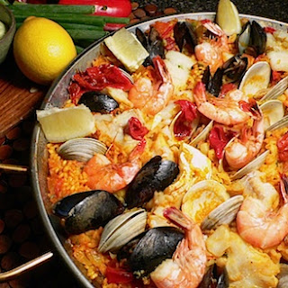 Mixed Seafood Paella – Paella de Mariscos