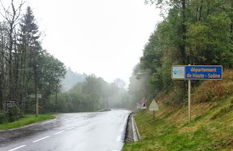 Photo: Arrivant en Haute-Saône