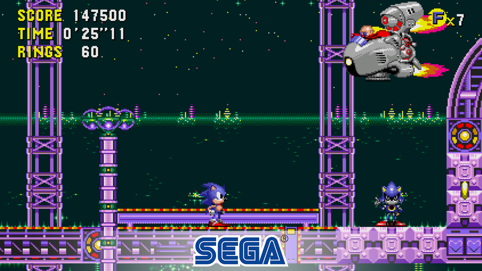 Sonic CD Classic- screenshot