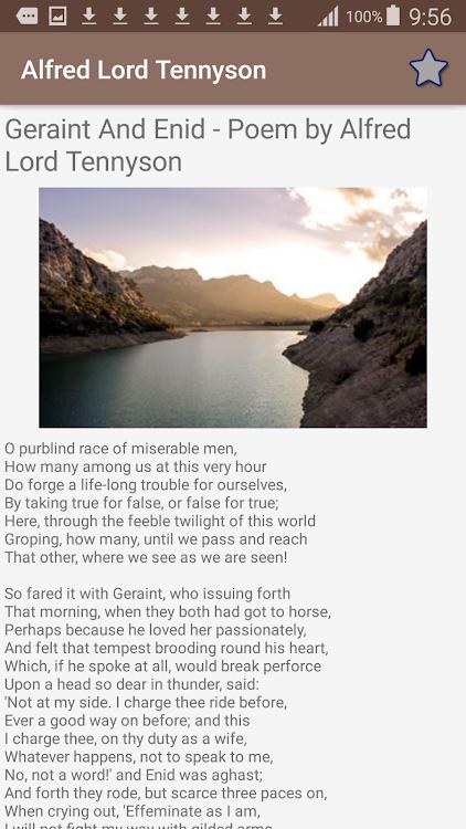 Alfred Lord Tennyson Poems Android Aplicaciones Appagg