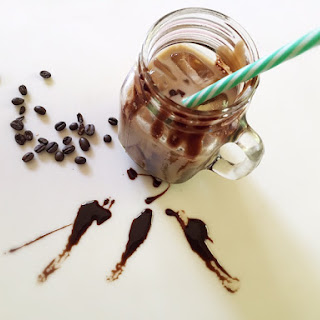 Cold Iced Coffee with Chocolate