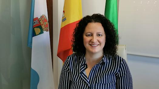 Alcaldesa de Balanegra, Nuria Rodríguez.