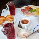 breakfast at Hotel Anker in Lucerne, Lucerne, Switzerland