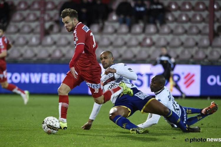 """🎥 Doelpunt van D'Haene tegen Anderlecht verkozen tot mooiste goal van het jaar bij KV Kortrijk: """"Meestal trapt hij er twintig meter naast"""""""