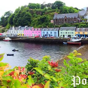 Isle of Skye, Scotland by Preslava Gancheva - Typography Captioned Photos ( portree, island, sea, summer, scotland )
