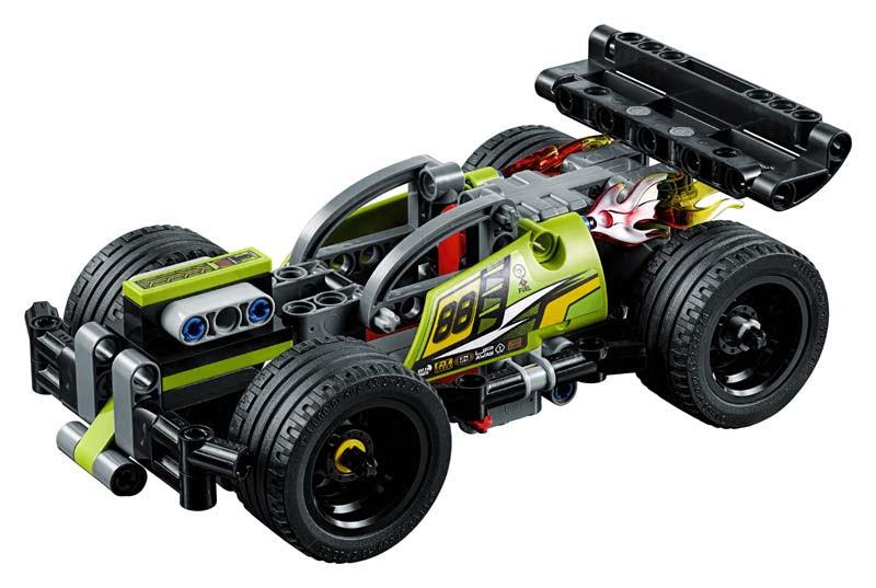 Contenido de Lego® 42072 ¡GOLPEA!
