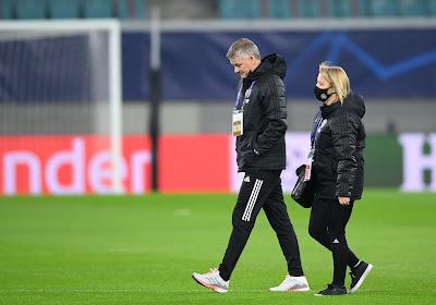 """Ole Gunnar Solskjaer conscient que ManU """"ne méritait pas mieux"""" à Liverpool"""