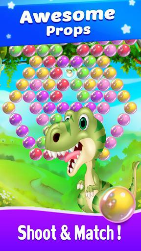 Dinosaur Bubble Shooter Primitive 1.0 screenshots 5
