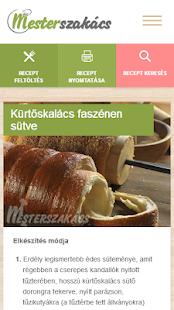 Mesterszakács - receptek for PC-Windows 7,8,10 and Mac apk screenshot 7